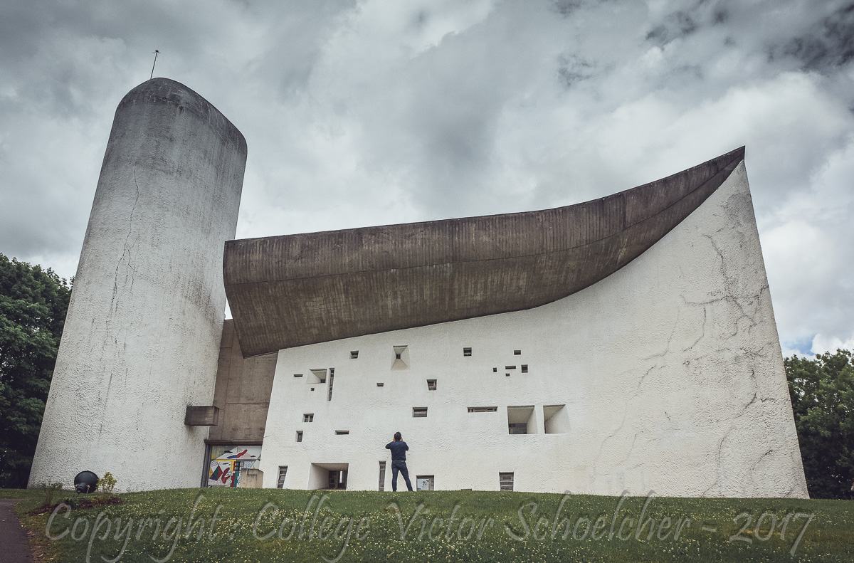 Chapelle Le Corbusier , Ronchamp_-19