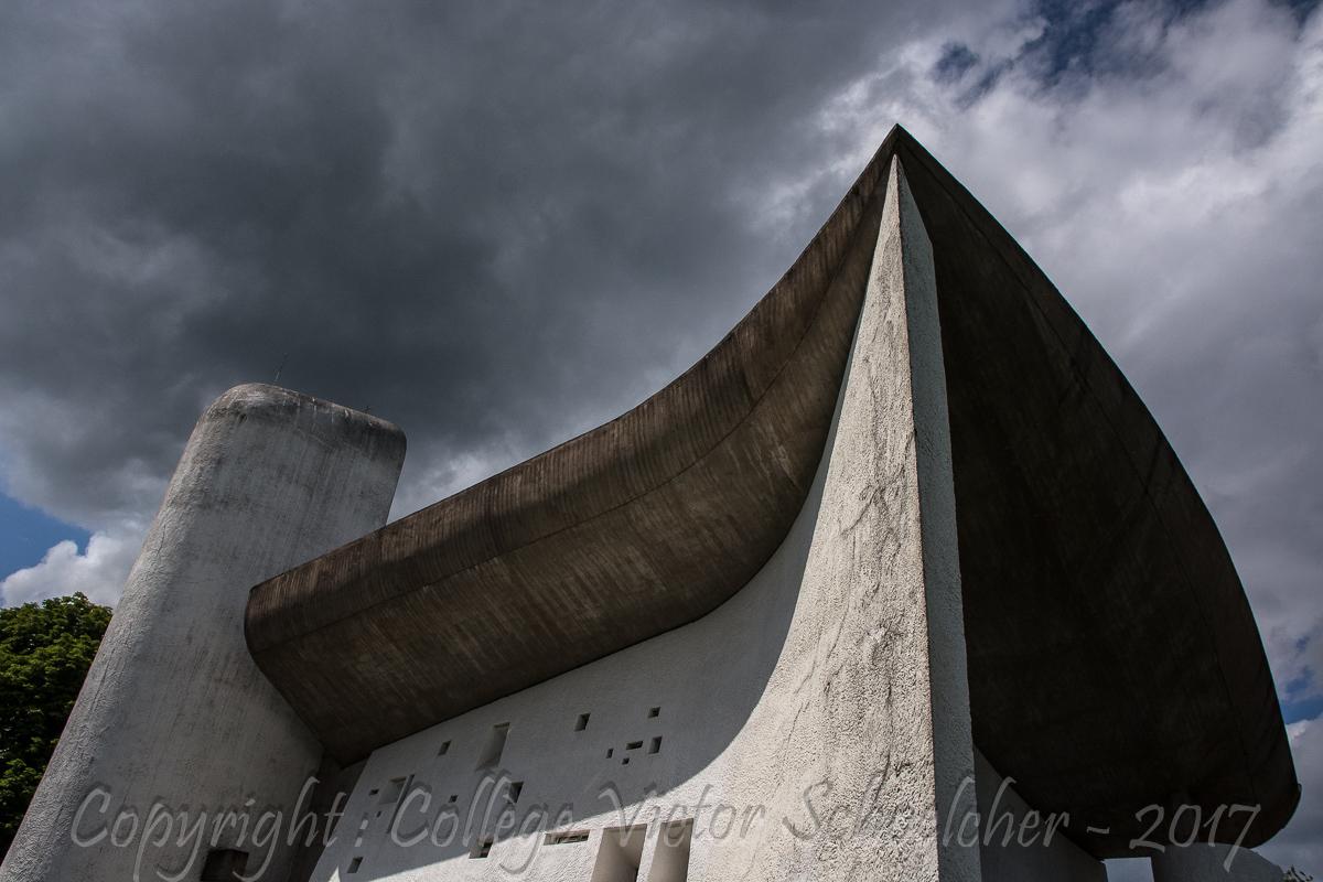 Chapelle Le Corbusier , Ronchamp_-21