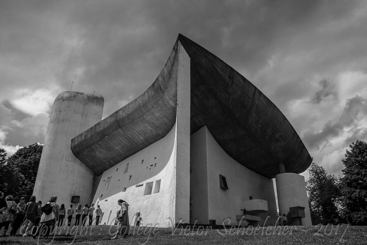 Chapelle Le Corbusier , Ronchamp_-22