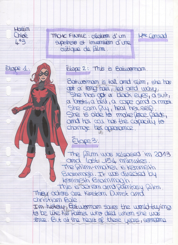 inventer un super heros